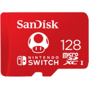 SanDisk MicroSDXC 100MB    128GB Nintendo      SDSQXAO-128G-GNCZN