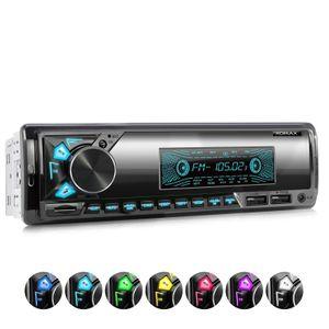 XOMAX XM-R278: 1DIN, Autoradio mit Bluetooth, USB, AUX IN, ohne Laufwerk