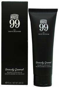 House 99 by David Beckham Seriously Groomed Beard & Hair Balm 75ml