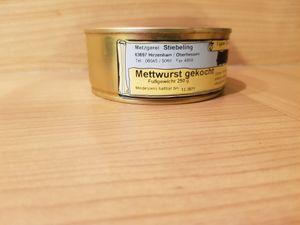 Mettwurst Dose Dosenwurst