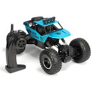 VONDA 1:12 2,4 GHz 4WD RC Auto Fernbedienung Hochgeschwindigkeits Off-road Monster Trucks Spielzeug für Kinder - Blau
