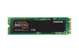 Samsung 860 EVO, 1000 GB, M.2, 550 MB/s, 6 Gbit/s