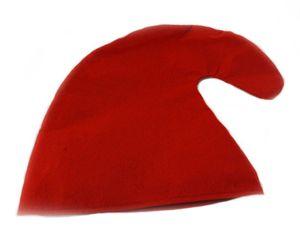 Zwergenmütze  für Kinder  - Zwergen Mütze Kind - Gnommütze Kinder Mützen rot
