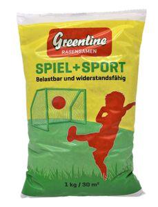 1 kg Greenline Spiel- und Sportrasen