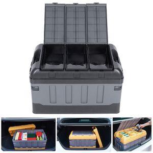 75L Auto Kofferraum Organizer Aufbewahrungsboxen Kofferraumorganizer 60kg PKW KFZ