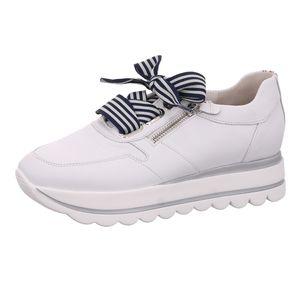 Gabor Shoes     weiss komb, Größe:4, Farbe:weiss/marine kombi 1