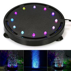 Tauch LED Luftblase Licht Bunte Dekoration für Aquarium