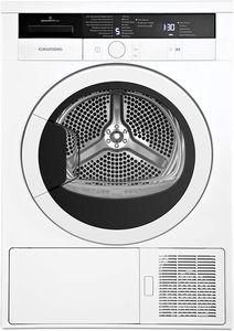Grundig Edition 75 Trockner //Kondenstrockner mit Wärmepumpentechnologie/8 kg Beladungskapazität/LED-Display mit Sensortasten/16 Trocknungsprogramme
