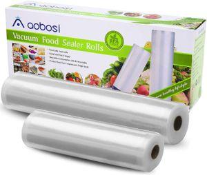 Vakuumbeutel Rollen Foodsaver 2 Vakuumrollen für Vakuumierer Folienrollen 28 x 600 cm Und 20 x 600 cm