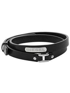 Diesel DX0971 Leder Herren-Armband