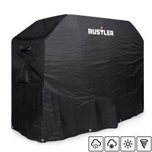 Rustler BBQ Gasgrill Abdeckhaube Wasserdicht, Ca. 130 x 57 x 104 cm, Grill Schutzhülle Wasserdicht, Abdeckplane, Wetterfest, Grillzubehör