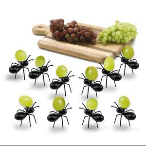96 Stück Ameisen Pudding Obst Gabeln Cocktail Party Picks Schönes Besteck Wiederverwendbar