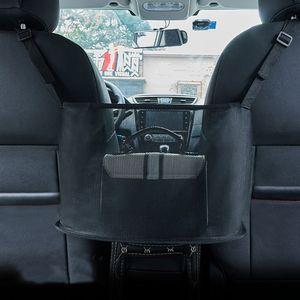 Autositz Seitenaufbewahrungsorganisator Auto Hängetasche Sitztasche,Farbe: Netz Schwarz