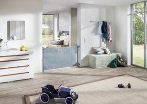 IMPAG® Türschutzrollo Retra 50 - 150 cm Polar-Weiß