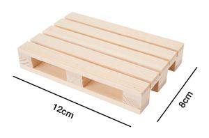 Miniatur-Holzpalette geschliffen 12cm x 8cm
