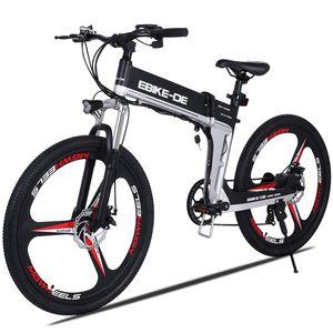 VIVI E-Bike klapprad,26 Zoll Elektrofahrrad Mountainbike Für Herren Damen,Ebike Trekkingrad Pedelec Citybike mit 36V 8AH ausziehbarer Baterrie 250 Watt Motor,Elektrisches Fahrrad 25 km/h