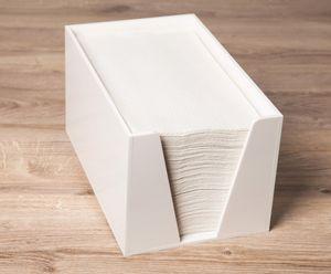Sovie Care Handtuchspender aus Kunststoff für Einweghandtücher 17x21x15cm in Weiß, 1 Stück