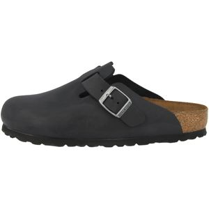 BIRKENSTOCK Boston  Clogs Pantoffel Hausschuhe Schwarz Schuhe, Größe:37
