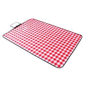 Picknick Decke Extra Große (300x150cm) Folding Wasser Widerstand Reise Picknick Teppich Matte Pad für Im Freien, strand, Camping mit Tragegriff-3 150x150cm rot tragbar Picknickdecke