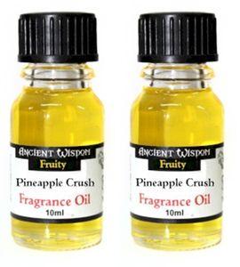 GKA 2 Stück edle ätherische Duftöle Ananas Rarität von Ancient Wisdom Aromaöl Raumduft sehr intensiv Duftöl für Duftlampe Diffuser Duftstövchen zur Raumbeduftung Esotherik