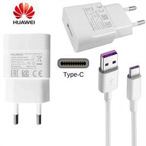 Original Huawei Netzteil Ladegerät + USB C Ladekabel HW-050100E01 Datenkabel Netzladegerät Ladeadapter P30 Lite P30 P40 Lite 5G P20 Pro P Smart 2021 ŽP20 Lite P20 Pro Mate 10 Lite Mate 20 Pro Mate 20 Lite