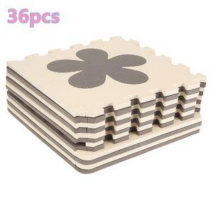 36 PCS  Puzzlematte Bodenmatte Spielmatte Schutzmatte Kinderteppich Krabbelmatte Mickey