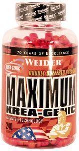Joe Weider Maximum Krea-Genic, 240 Kapseln Dose
