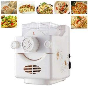 Elektrische Nudelmaschine Vollautomatische Pastamaschine Spaghettimaschine mit Wiegefunktion mit 9 Formscheiben