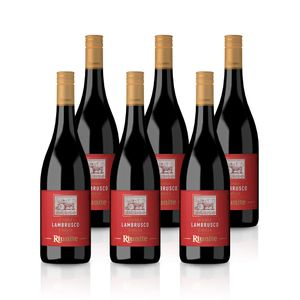 Lambrusco Dolce Rosso IGT - Cantine Riunite, Paket mit:6 Flaschen