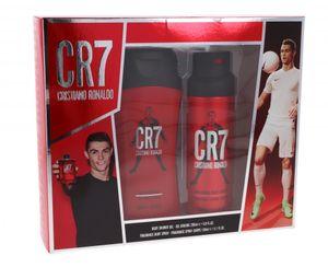 Cristiano Ronaldo CR7 Gift Set 200ml Duschgel + 150ml Body Spray