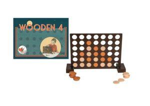 Vier gewinnt - das strategische Spiel aus Holz