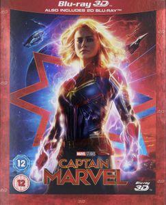 Captain Marvel [BLU-RAY 3D+BLU-RAY]