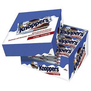 Knoppers Crispi knusprig Milch Haselnuss Schnitte 25g 24er Pack