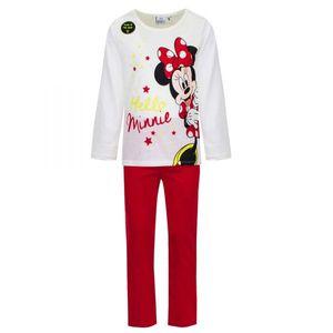 Disney Minnie Schlafanzug, beige-rot, Gr. 98-128 Größe - 3 Jahre
