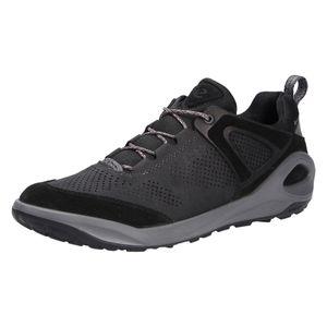 ECCO Herren Sneaker Sneaker Low Lederkombination schwarz 44
