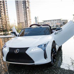 Lexus LC500 Kinderfahrzeug Bluetooth Fernbedienung - Kinderauto - Elektro Auto - Modell 2020