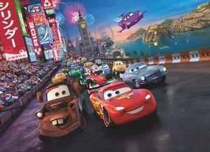 Cars Race - Disney Foto-Tapete Wallpaper 254x184cm - 4-teilig