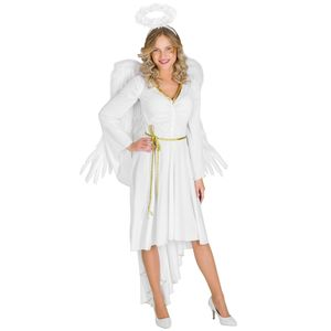 dressforfun Frauenkostüm sexy X-Mas Angel - M