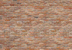 Fototapete - Backstein - 368x254 cm - 8-teilige Tapete - Wanddeko Wallpaper