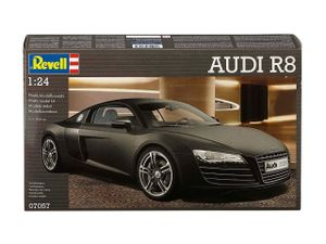 Revell AUDI R8, Montagesatz, Supersportwagen-Modell, 1:24, AUDI R8, Beide Geschlechter, Kunststoff