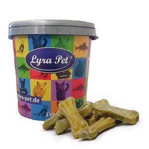50 Stk. Lyra Pet® Kauknochen ca. 12 cm in 30 L Tonne