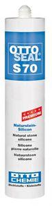 OTTOSEAL® S70 Premium-Naturstein-Silikon/Silicon 310 ml - Matt-Anthrazit C1300