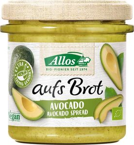 Allos - aufs BrotStreichcreme Avocado - 140g
