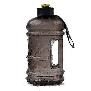 2,2 l Fitness-Sportflasche PETG-Material, zufällige Kappenfarbe