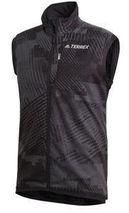 adidas Herren Wanderweste TERREX Agravic XC Polartec Alpha Athlete Weste schwarz, Größe:S