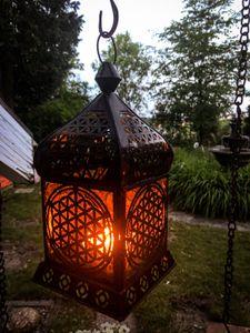 """Orientalisches Licht """"Blume des Lebens"""""""
