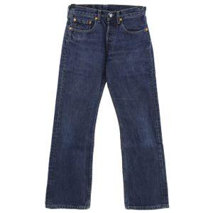 #6518 Levis,  Damen Jeans Hose, Denim ohne Stretch, darkblue, W 29 L 30
