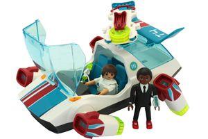 Playmobil FulguriX mit Agent Gene