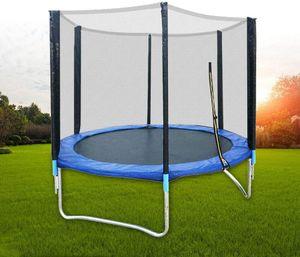 Kindertrampolin Kinder Trampolin mit Sicherheitsnetz für Garten Haushalt 183cm Nutzlast 300kg