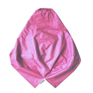 xxl recliner gaming sitzsack stuhlabdeckung erwachsenen sitz pod tasche abdeckung rosa wie beschrieben